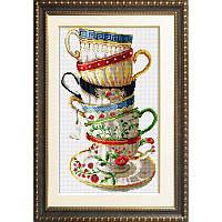 30001 Набор кофейных чашек Dream Art  Набор алмазной живописи