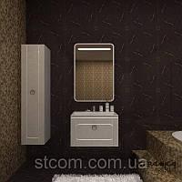 Комплект мебели Marsan Charlotta черная(белая)70см