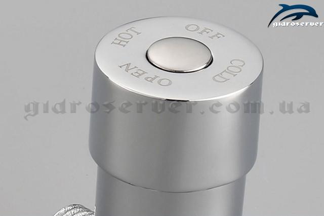 Смеситель холодной и горячей воды на сенсорный кран S-110 латунный.