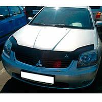"""VipTuning Mitsubishi Galant IX '03-08 Дефлектор капота """"мухобойка"""""""