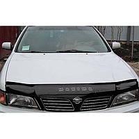 """VipTuning Nissan Maxima QX A32 '94-99 Дефлектор капота """"мухобойка"""""""