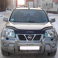"""VipTuning Nissan X-Trail (T30) I '01-07 Дефлектор капота """"мухобойка"""""""