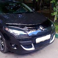 """VipTuning Renault Megane III '08-15 Дефлектор капота """"мухобойка"""""""