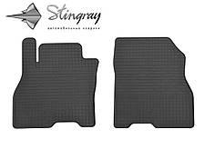 Nissan Leaf 2012- Комплект из 2-х ковриков Черный в салон. Доставка по всей Украине. Оплата при получении