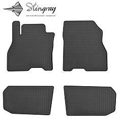 Nissan Leaf 2012- Комплект из 4-х ковриков Черный в салон. Доставка по всей Украине. Оплата при получении