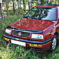 "VipTuning Volkswagen Vento '92-98 Дефлектор капота ""мухобойка"""