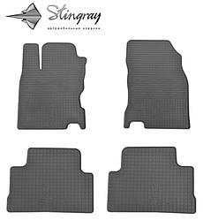 Nissan QASHQAI 2014- Комплект из 4-х ковриков Черный в салон. Доставка по всей Украине. Оплата при получении