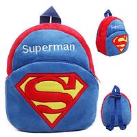 Детский плюшевый рюкзак Супермен