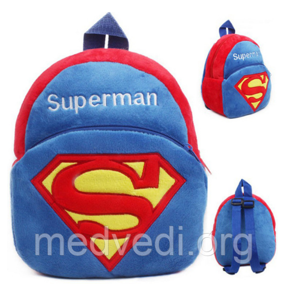 детский рюкзак супермен