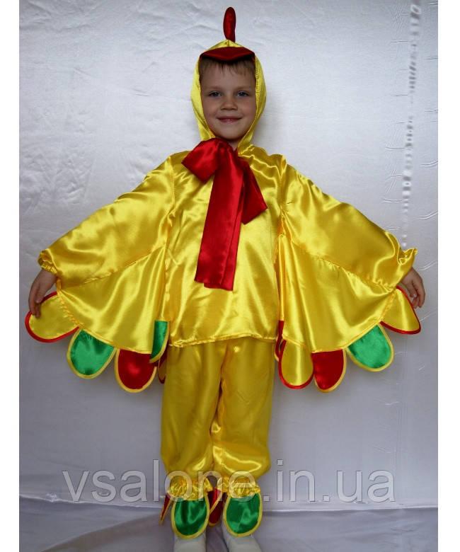 Детский карнавальный костюм для мальчика Петух №3