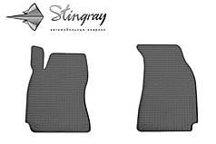 Skoda Superb 2002- Комплект из 2-х ковриков Черный в салон. Доставка по всей Украине. Оплата при получении