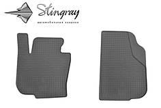Skoda Superb 2008- Комплект из 2-х ковриков Черный в салон. Доставка по всей Украине. Оплата при получении