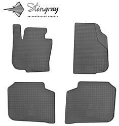 Skoda Superb 2008- Комплект из 4-х ковриков Черный в салон. Доставка по всей Украине. Оплата при получении