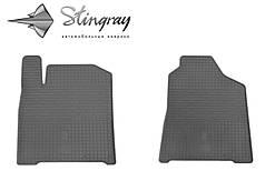 SsangYong Korando 2011- Комплект из 2-х ковриков Черный в салон. Доставка по всей Украине. Оплата при получении