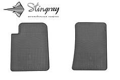 SsangYong Kyron 2006- Комплект из 2-х ковриков Черный в салон. Доставка по всей Украине. Оплата при получении
