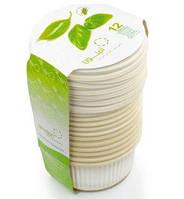 Биоразлагаемая одноразовая посуда Салатницы с крышками Amelon 300 мл/12 шт.