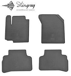 Suzuki Vitara 2015- Комплект из 4-х ковриков Черный в салон. Доставка по всей Украине. Оплата при получении