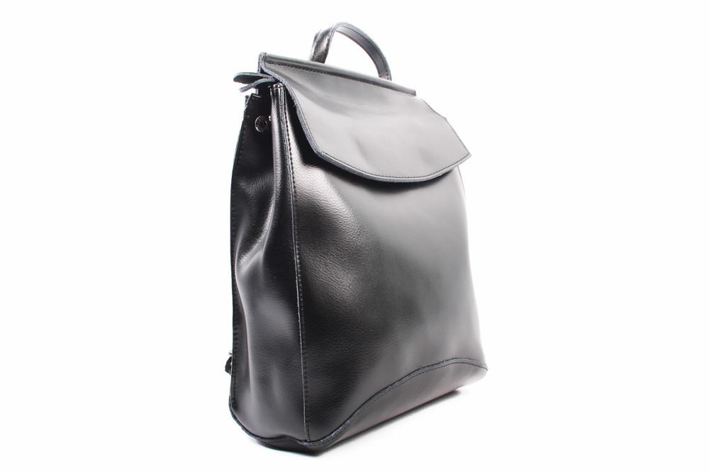Стильный рюкзак ShengKasiLu эко-кожа, цвет черный