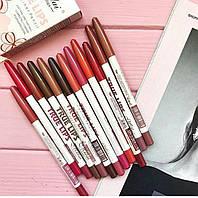 Набор карандашей для губ Menow True Lips