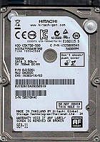 "HDD 2.5"" SATA  500GB Hitachi  5400rpm 8MB (HCC547550A9E380) гар. 12 мес."