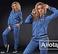 Тёплый спортивный костюм - 17427