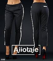 Трикотажные женские брюки - 17453
