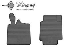 Smart Fortwo II 2007- Комплект из 2-х ковриков Черный в салон. Доставка по всей Украине. Оплата при получении