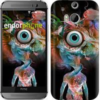 "Чехол на HTC One M8 dual sim Психоделия ""4005c-55-4074"""