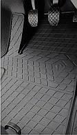 Volkswagen T5 (1+2) 2003- Комплект из 3-х ковриков Черный в салон. Доставка по всей Украине. Оплата при получении