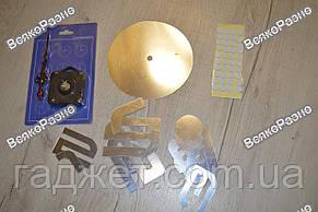 Акриловые настенные часы серебряного цвета. Настенные часы акриловые, фото 3