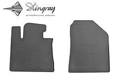 Kia Sorento 2012-2015 Комплект из 2-х ковриков Черный в салон. Доставка по всей Украине. Оплата при получении