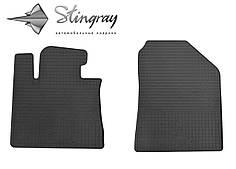 Kia Sorento 2015- Комплект из 2-х ковриков Черный в салон. Доставка по всей Украине. Оплата при получении