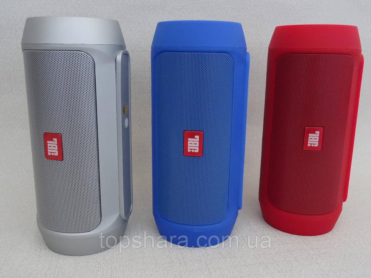 Колонка портативная беспроводная Bluetooth JBL Charge 2+ водонепроницаемая