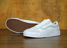 Мужские кеды Vans Old Skool Pro Skate Colab White . ТОП Реплика ААА класса., фото 3
