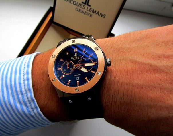 78d7240b32e6 Стильные наручные часы Hublot для мужчин. Практичный дизайн ...