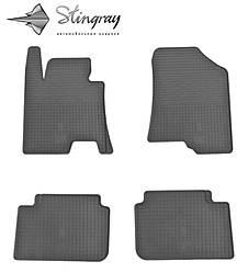 Kia Ceed 2012- Комплект из 4-х ковриков Черный в салон. Доставка по всей Украине. Оплата при получении