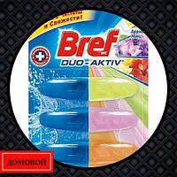 Гигиенический блок для унитаза Bref Duo-Aktiv Арома микс 3 шт (50719546)