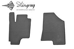Kia Sportage III 2010- Комплект из 2-х ковриков Черный в салон. Доставка по всей Украине. Оплата при получении