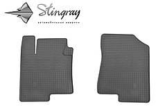 Kia Optima 2012- Комплект из 2-х ковриков Черный в салон. Доставка по всей Украине. Оплата при получении