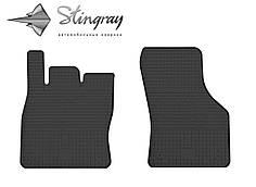 Seat Leon III 2012- Комплект из 2-х ковриков Черный в салон. Доставка по всей Украине. Оплата при получении