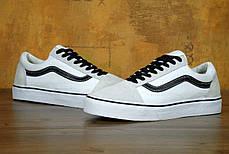 Мужские кеды Vans Old Skool Pro White/Black . ТОП Реплика ААА класса., фото 3
