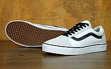 Мужские кеды Vans Old Skool Pro White/Black , фото 3