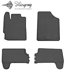 Toyota Yaris 2013- Комплект из 4-х ковриков Черный в салон. Доставка по всей Украине. Оплата при получении
