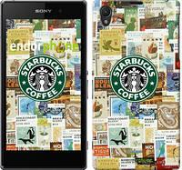 "Чехол на Sony Xperia Z1 C6902 Starbucks v3 ""3092c-38-4074"""