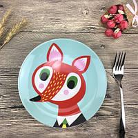 Детская тарелочка Fox
