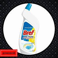 Средство для чистки унитаза Bref WC гель Цитрус 750 мл (50719271)