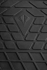 Kia Optima 2015- Комплект из 2-х ковриков Черный в салон. Доставка по всей Украине. Оплата при получении