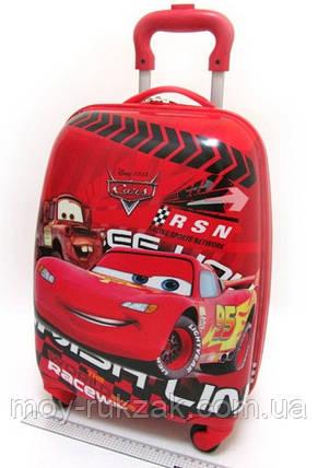 "Детский чемодан на колесах ""Josef Otten"" Тачки, Cars-8, фото 2"