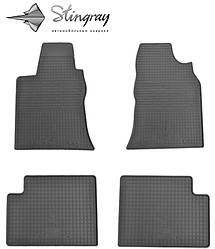 Geely GC 7 2014- Комплект из 4-х ковриков Черный в салон. Доставка по всей Украине. Оплата при получении