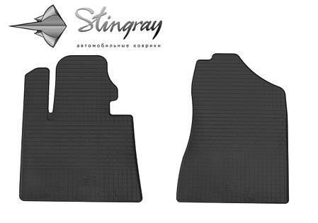 Hyundai Tucson TL 2015- Комплект из 2-х ковриков Черный в салон. Доставка по всей Украине. Оплата при получении, фото 2